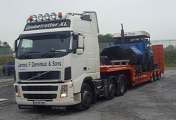 Contact JF Devereux Transport, Wexford - National and International Transport