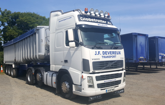 JF Devereux Transport, Wexford - National and International Transport