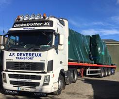 Our Services - JF Devereux Transport, Wexford - National and International Transport