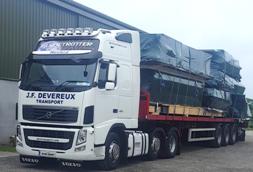 Out of Gauge - JF Devereux Transport, Wexford - National and International Transport
