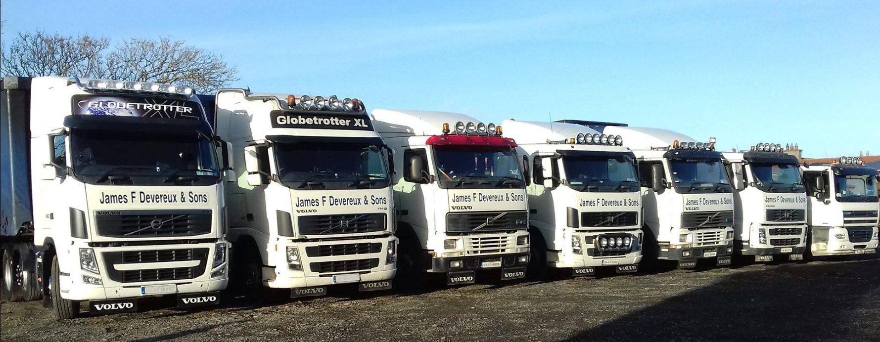 James F Devereux & Sons Tranport Ltd - Wexford, Ireland -Header
