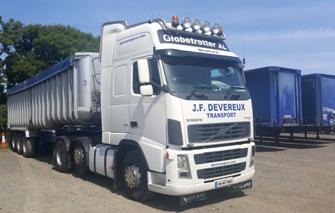 JF Devereux Transport, Wexford - National and International Transport